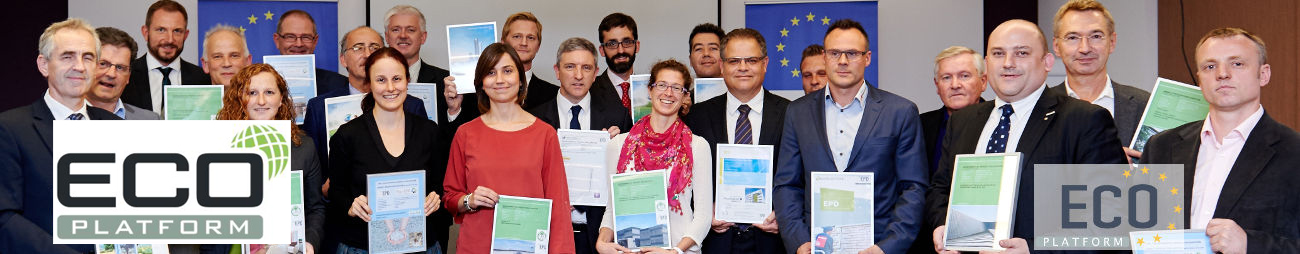 First award of Global EPD Environmental Product Declarations with ECO Platform recognition