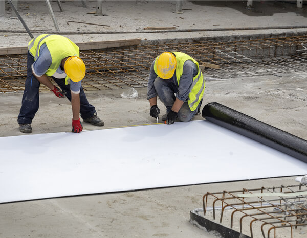 N Mark of quality for plastic and rubber sheets for waterproofing roofs