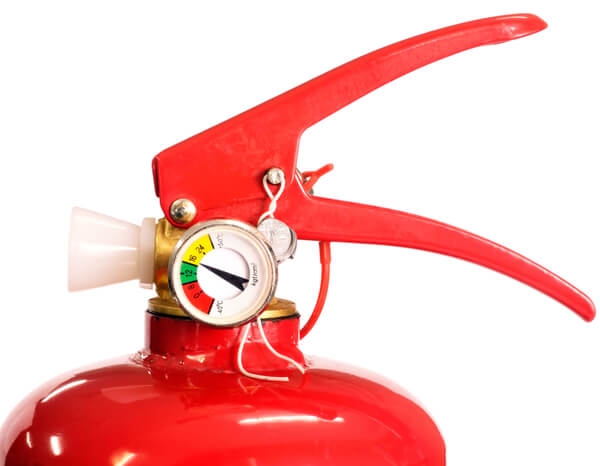 N Mark of quality for pressure manometers and gauges for portable extinguishers