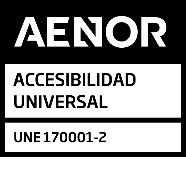 AENOR Mark for Registered Accessibility UNE 170001-2