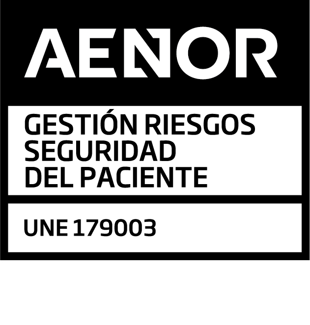 AENOR Mark of Risk Management for Patient Safety