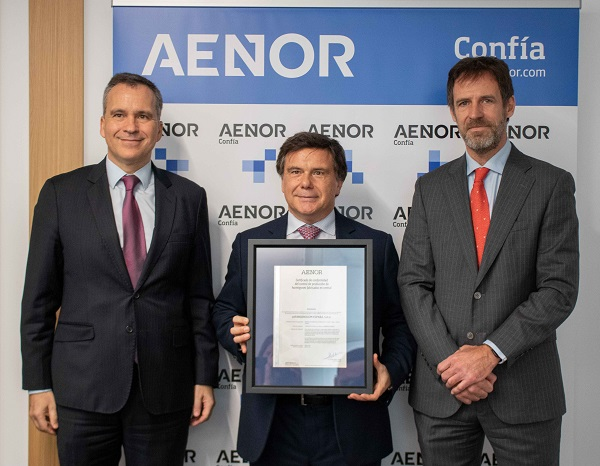 LafargeHolcim, a pioneer in Spain in holding AENOR certification for the production control of a concrete plant