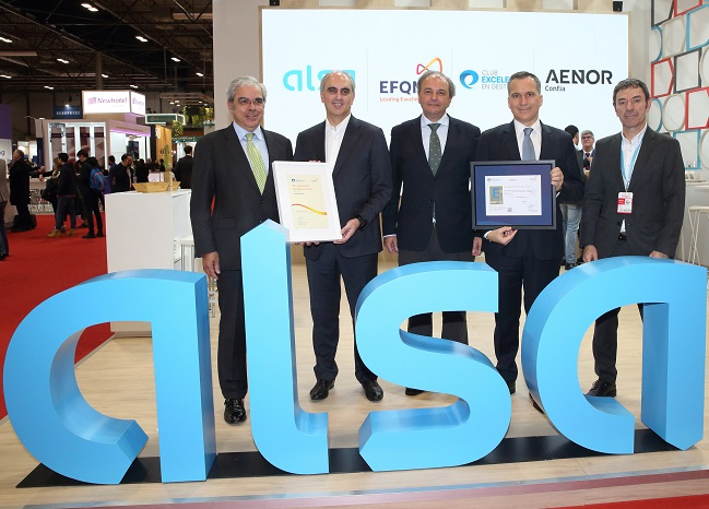 Alsa renews its EFQM 500+ European Seal of Excellence
