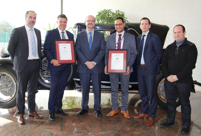 AENOR awards the Antolin Group the double certification in Criminal and Anti-bribery compliance systems