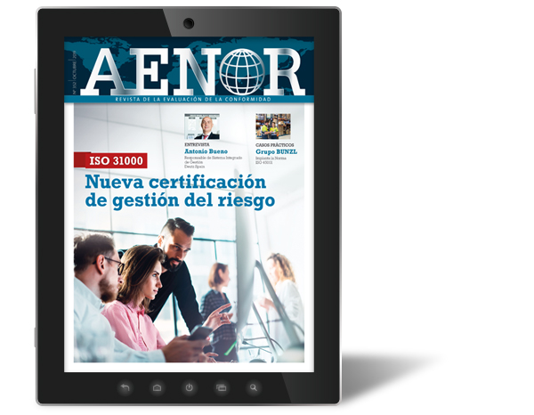 AENOR magazine's October issue is now available