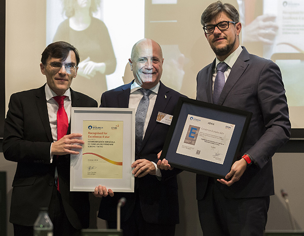 FIAPAS awarded the EFQM 400+ European Seal of Excellence