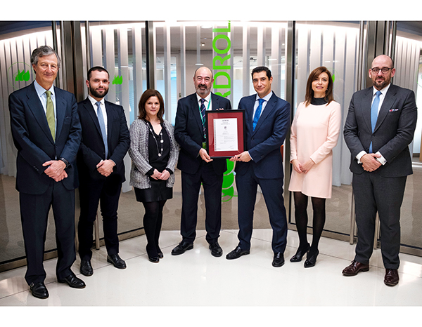Iberdrola obtains Emergency Management certificate