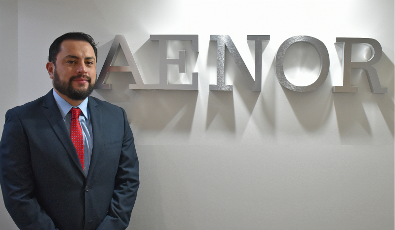 Miguel Montesino, appointed Chief Executive Officer of AENOR in Mexico
