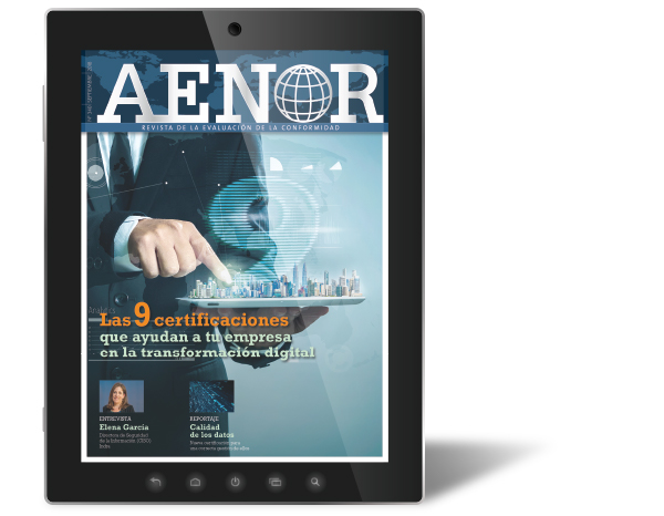 AENOR magazine's September issue is now available